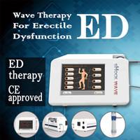 Goede kwaliteit Onda de Choque Low Power Shockwave Therapy Apparatuur / Akoestische Schok Wave Machine voor Ed Treationment Machine