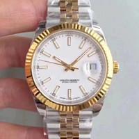 Beste Männer Herren Watchuhren 41mm Edelstahl Automatische Bewegung Mechanische DateJust Armbanduhren