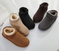 Большой размер 35-45 Горячее надувательство Новая Австралия Высококачественные Малыша Мальчики девочки дети детские теплые снежные ботинки Подростковые Студенческие Снег Зимние ботинки