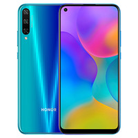 "Original Huawei Honor Play 3 4G LTE الهاتف الخليوي 4 جيجابايت RAM 64GB 128GB ROM Kirin 710F Octa Core Android 6.39 ""ملء الشاشة 48MP HDR 4000MAH معرف بصمات الأصابع وجه الهاتف المحمول الذكية"