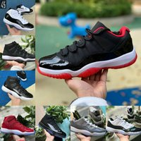 Sale New Bred 11s 11 Men Women Basketball Shoes Concord 45 P...