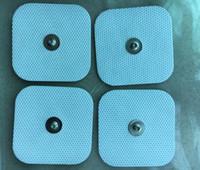 40 stks (10 Sets) Zelfklevende Herbruikbare Vervangende Elektrode Pads voor TENS / EMS COMPEX SNAP Draadloze spierstimulatoren 3.9mm Stud