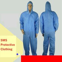 Disposable Isolation Protective Clothing SMS Isolation Suit ...
