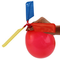 10 Pack Traditional Balloon Helicopter Flying Toys