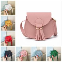 Baby Mini Tassel Bags Girls Designer Cross Body Bags Princess Shoulder Bags Child Satchel Bag Purse Fashion Travel Messenger Totes B7512