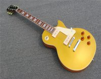 Free shipping, Electric Guitar Gold top A bridge P90 pickup f...