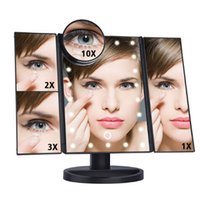 Hot Sale LED Touch Screen 22 Light Makeup Mirror Table Deskt...