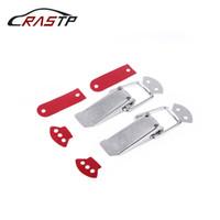 RASTP الحجم L الفولاذ المقاوم للصدأ الوفير هوك الأمن الدائم كليب قفل كيت كليب خطة الصحة والسلامة العالمي السريع السيارات الإصدار السحابة RS-ENL019