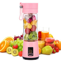 6- Blade Portable USB Mini Mixer Juicer Cup, 380ml Rechargeab...
