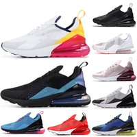 Nike Air Max 270 air 270 air max 270 Coussins Throwback Future Summit Blanc Rhoes pour hommes femmes South Beach Triple Black Total Orange Runners Baskets de Sport Baskets