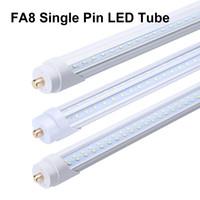T8 T10 T12 96 '' 8FT 45W 65W-Geschäfts-Licht zweireihig LED-Schlauch FA8 Einzel Pin Led Lampe leuchtet Rohr LED Leuchtstoffbirnen