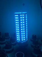 DHL 60W UV Бактерицидные лампы UVC лампы E27 Светодиодные лампы Corn Бытовая Озон Лампы Дезинфекция свет Ультрафиолетовый свет с дистанционным таймером Для дома
