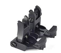 Kostenloser Versand AR-15 Schnelle Taktische Vorder-und Rückseite Flip-Up-Backup-Anblick Set für Picatinny Schiene
