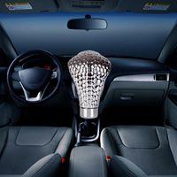Manuel / Otomatik Araba LED Işık Kolu Shifter Cobra Kafa Araba Dişli Vites Topuzu Sopa Shifter Dişli Değiştirme Düğmesi