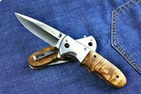 cuchillo del regalo Bo-ker DA72 rápida plegable abierto cuchillo de supervivencia Cuchillos de caza que acampa al aire libre Cuchillo de bolsillo Admi de Navidad para el hombre 02225
