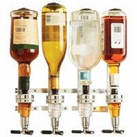벽 맥주 소다 콜라 탄산 소다 4 역 주류 와인 디스펜서 기계 바 버틀러 음주 뿌리개 홈 바 도구 탑재