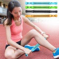 45CM رياضة العضلات لتخفيف الآلام مدلك عصا رود اليوغا جير بكرة القدم عصا الوجه الجسم تدليك الساق الاسترخاء أدوات العناية الصحية