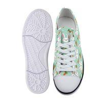 Genç Erkekler Studnets Düşük En Sneakers Erkek Klasik Flats Tuval Ayakkabı için Paskalya Tema Tavşanlar Ve Havuç Unisex Kanvas Ayakkabı