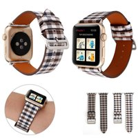 Luxury Genuine Leather Apple Watch Bands for Apple Watch Ban...