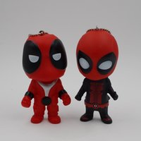 New Deadpool 9- 10CM Super Hero Action Figures Keychain PVC h...