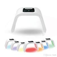 Máscara Facial LED PDT Light 7 Luz Pele Terapia Máquina de Beleza Para O Rosto Da Pele Rejuvenescimento Salão de Beleza Equipamentos