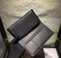 뜨거운 판매 최고의 품질 도매 Deigner 가방 Brazza 긴 지갑 신용 카드 홀더 클래식 남성 지갑 61697 60017 66540 고품질 선물 상자