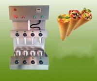 Nova máquina de pizza cone com melhor qualidade e baixo preço 4 cone máquina de fazer pizza para venda
