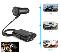 4 USB QC 3. 0 Ports Fast Charger Quick chargeCar Charger Univ...