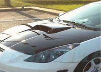 Für 00-05 Celica Zzt231 C1 Haubenhaube Bonnet Air Intake Scoop Black Primer unlackiert