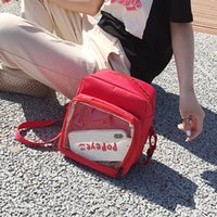 2020 New Jelly Bag Women' s Shoulder Bag Transparent Fas...