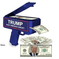 دونالد ترامب المال بندقية إبقاء أمريكا العظمى 2020 إعادة انتخاب المال بندقية مع 100 الرئاسي دولار فاتورة حزب 48PCS صالح CCA12155