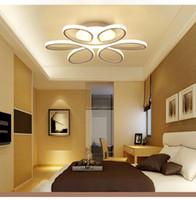 ما بعد الحداثة مصباح سقف الحد الأدنى LED شكل زهرة الأطفال الإبداعية في غرفة غرفة المعيشة مصباح شخصية مصباح غرفة نوم منزل الإضاءة R6