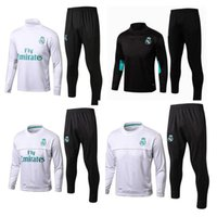 HOT top Thai quality 17 18 Real Madrid soccer Tracksuit MODR...