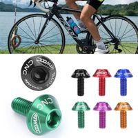 دراجة زجاجة مياه قفص حامل برغي البراغي دائم الملونة الدراجة التبعي تثبيت دراجة زجاجة قفص الرف 7 ألوان الدراجات