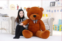 Big Sale 200 cm 2 m 78 '' urso de pelúcia gigante grande brinquedos de pelúcia crianças macias peluches baby doll grandes animais de pelúcia presente de aniversário da menina