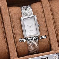 Yeni Boy.Friend Tweed H4878 H5315 H4472 H4469 Beyaz Dial İsviçreli Kuvars Kadın İzle Çelik Kasa Metal doku Bilezik Moda Bayan Saatleri