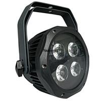 16 peças 4x18 W RGBWA UV 6in1 À Prova D 'Água DJ Iluminação de Palco IP65 Ao Ar Livre Mini Silencioso LED Hex Par Luz