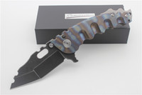 High Quality Custom M- O- W Afterburn Folding Knife S35VN Blad...