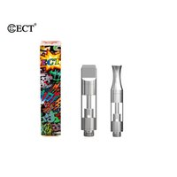 Authentic ECT Kenjoy B1 B1S Vaporizer Pen Cartridges Ceramic...