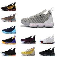 2020 выпуск новых продуктов и новых сорта Равного Away Черного смешанных мужской обуви 16S открытого досуг спорт баскетбол обувь