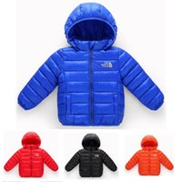 Children Brand NF Winter Down Coat Cotton Jackets The North ...