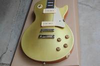 HEISS! @% Standard-E-Gitarre vorne goldgelb P90 Seifenstück Pickup zurück