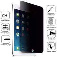 Privacy Tempered Glass per IPad 2 Mini 5 4 2019 Anti Screen Protector per IPad Pro 9.7 10.5 11 2017 2018 Tablet