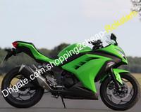 Verklei voor Kawasaki Ninja ZX300 ZX EX 300 300R EX300 13 14 15 16 Motor ABS Plastic Carrosserie Set (spuitgieten)