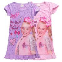 جوجو سيوة ملابس الصيف 4-12t الاطفال الفتيات جوجو سيوة المطبوعة فساتين الاميرة للمصمم الملابس الاطفال الفتيات SS319