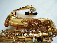 High Quality France Henri SAS- R54 New Golden Saxophone E Fla...