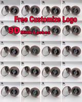 عالية الجودة 3D FAUX ثعلب الماء شعر الرموش OEM / مخصص / شعار الخاص المقبول البروتين 3D الحرير جلدة 100٪ القسوة حر الرموش الكاذبة المسرحية