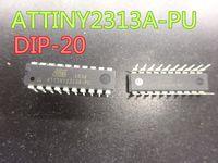10pcs / lot de nouveaux circuits intégrés ATTINY2313A-PU DIP-20 puce microcontrôleur 8 bits Flash 2KB en stock Livraison gratuite