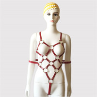 3 Kolor Bondage Uprzączki żeński całe ciało Regulowane PU Skórzany Pas Straitjacki Rajstopy Pasek Otrzymyki Erotyczne Bandaż Dorosłych Seks Toy 16