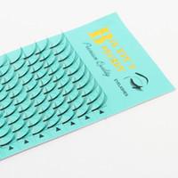 Seashine 1 bandeja Raíces largas 5D volumen ruso latigazos premade 0.07 / 0.10mm C D curl individuales pestañas envío gratis